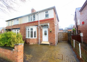 Thumbnail 3 bed semi-detached house to rent in Brinkburn Avenue, Darlington
