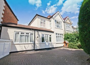 Thumbnail 4 bed semi-detached house for sale in Barrow Point Avenue, Pinner, Middlesex