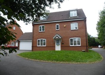 Thumbnail 5 bed detached house for sale in Woden Road South, Wednesbury