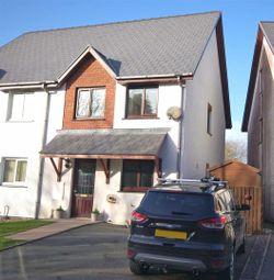Thumbnail 3 bed property for sale in Y Gerddi, Blaenplwyf, Aberystwyth