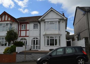 Thumbnail 3 bedroom semi-detached house for sale in Parc Wern Road, Swansea