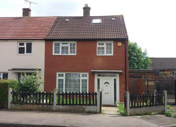Thumbnail 3 bed end terrace house for sale in Tarnworth Road, Romford
