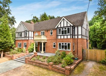 Thumbnail 5 bed detached house for sale in London Road, Bagshot, Surrey