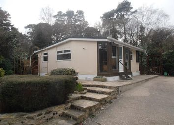 Thumbnail 2 bedroom mobile/park home for sale in Organford Road, Holton Heath, Poole