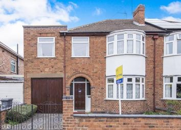 Thumbnail 3 bed semi-detached house for sale in Cairnsford Road, Leicester, Leicestershire