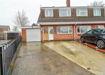 Thumbnail 3 bed semi-detached house for sale in Buttermere Close, North Anston, Sheffield