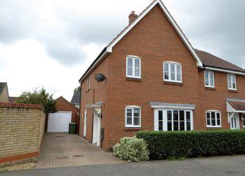 Thumbnail 3 bed semi-detached house for sale in Landseer Drive, Downham Market