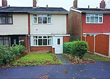 Thumbnail 3 bedroom end terrace house for sale in Millfield Avenue, Walsall