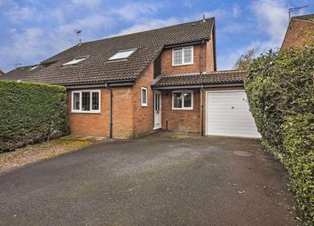 Thumbnail 4 bed semi-detached house for sale in Cowslip Bank, Lychpit, Basingstoke