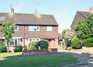 Thumbnail 3 bed semi-detached house for sale in Hazel Avenue, Guildford
