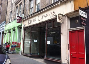 Thumbnail Retail premises to let in 10 St. Mary`S Street, Edinburgh