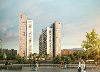 Thumbnail 1 bed flat for sale in Trafford Wharf Road, Trafford Park, Manchester