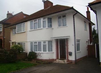 Thumbnail 3 bed property to rent in Vale Road, Worcester Park