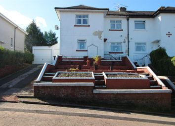 Thumbnail 3 bed semi-detached house for sale in Castlehill Avenue, Port Glasgow