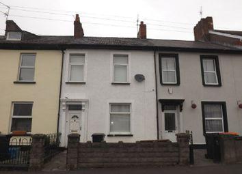 Thumbnail 4 bed terraced house for sale in Fairoak Terrace, Off Duckpool Road, Newport.