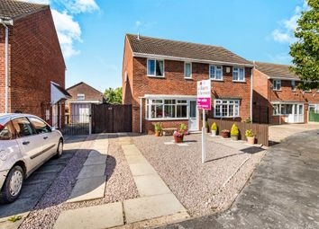 Thumbnail 3 bed semi-detached house for sale in Edmunds Road, Cranwell Village, Sleaford