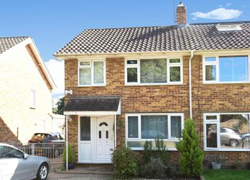 Thumbnail 3 bed semi-detached house for sale in Bramwell Close, Lower Sunbury
