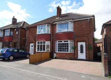 Thumbnail 3 bedroom semi-detached house for sale in Grove Road, Whitwick, Leicestershire