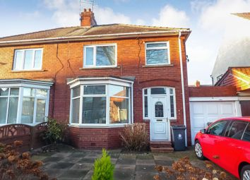Thumbnail 3 bedroom semi-detached house for sale in Lena Avenue, Whitley Bay