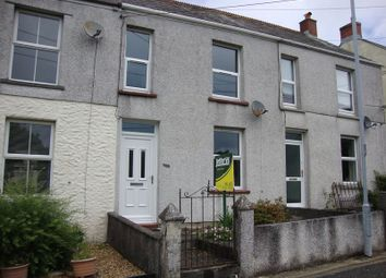 Thumbnail 2 bed terraced house to rent in Coombe Road, Lanjeth, High Street, St. Austell