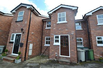 Thumbnail 2 bed terraced house to rent in Hand Street, Macclesfield, Cheshire