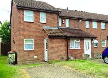 Thumbnail 2 bed end terrace house to rent in Constable Close, Houghton Regis, Dunstable