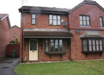 Thumbnail 3 bed end terrace house to rent in Wiltshire Gardens, St Helens