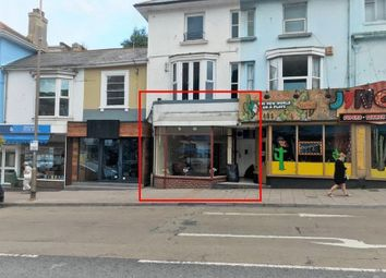 Thumbnail Retail premises to let in Torwood Street, Torquay