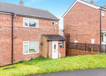 Thumbnail 2 bed semi-detached house for sale in Cleveland Close, Swadlincote