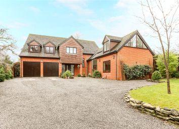 Thumbnail 5 bed detached house for sale in Speen Lane, Speen, Newbury, Berkshire