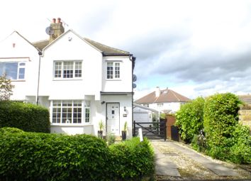 Thumbnail 3 bed semi-detached house for sale in Buckstone Crescent, Alwoodley, Leeds