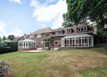 Thumbnail 6 bed detached house to rent in Hook Heath, Woking