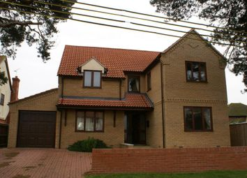 Thumbnail 4 bedroom detached house to rent in Wingfield Road, Lakenheath