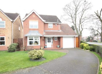 Thumbnail 3 bed detached house for sale in Spoonley Wood Court, Littleover, Derby