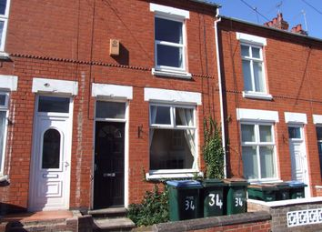 Thumbnail 2 bed terraced house to rent in Latham Road, Earlsdon, Coventry, West Midlands