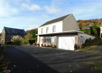 Thumbnail 3 bed detached house for sale in Ynysmeudwy Road, Pontardawe, Swansea, City And County Of Swansea.