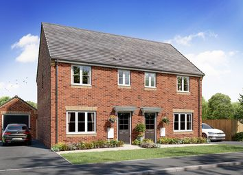 Thumbnail 3 bed semi-detached house for sale in Cromwell Fields, Upwood Road, Bury