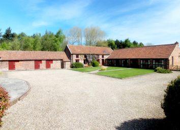 Thumbnail 5 bedroom detached house for sale in Centre Farm, Kelk, Driffield