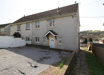 Thumbnail 3 bed semi-detached house for sale in Heol Waun, Tonyrefail, Porth, Rhondda, Cynon, Taff.