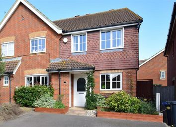 Thumbnail 2 bed semi-detached house for sale in Blackthorn Road, Hersden, Canterbury, Kent