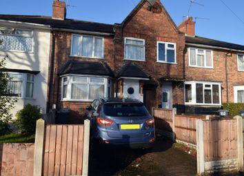 Thumbnail 3 bedroom terraced house for sale in Croydon Road, Erdington, Birmingham