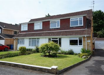 Thumbnail 3 bedroom semi-detached house for sale in Bartons Drive, Yateley