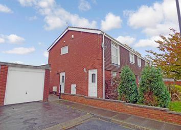 Thumbnail 2 bed flat for sale in Moffat Close, North Shields