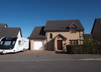 Thumbnail 4 bed detached house for sale in Bain Road, Elgin