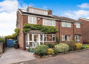 Thumbnail 4 bed semi-detached house for sale in Ferndene Road, Whitefield, Manchester