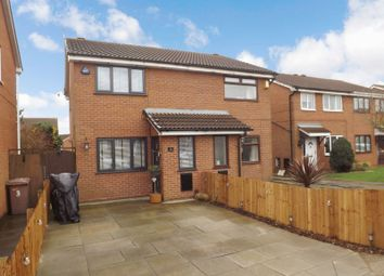 Thumbnail 2 bedroom semi-detached house for sale in Wetherby Close, Newton-Le-Willows