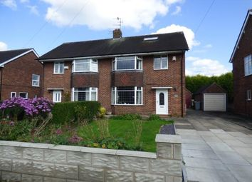 Thumbnail 3 bedroom semi-detached house for sale in Lime Grove, Alsager, Cheshire