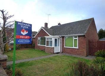 Thumbnail 3 bed bungalow to rent in Rivermead Close, Gloucester