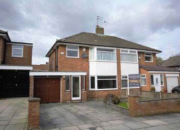 Thumbnail 3 bed semi-detached house for sale in Oakhurst Close, Gateacre, Liverpool