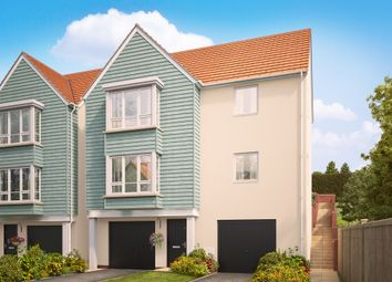 "Thumbnail 4 bed detached house for sale in ""The Brooke"" at Primrose, Weston Lane, Totnes"